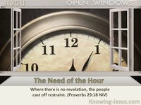 The Need of the Hour